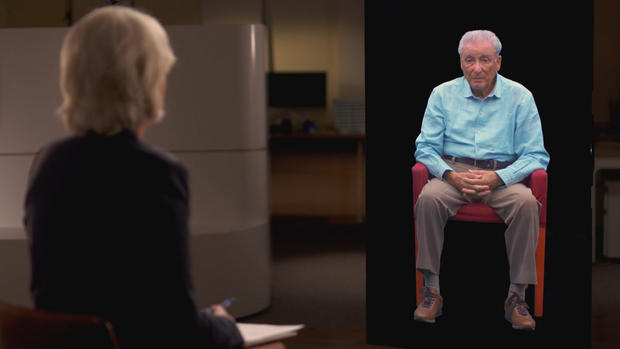 Image courtesy of 60 Minutes - Lesley Stahl speaks with Aaron Elster's digital image